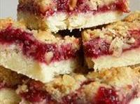 Raspberry Bars With Lemon Icing Drizzle Recipe
