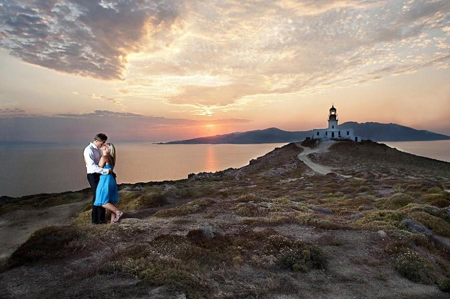 Sunset by Magnus Bogucki - People Couples ( mykonos, wedding, greece )