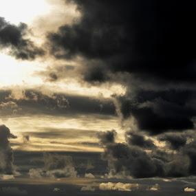 Clouds by Anabela Henriques - Uncategorized All Uncategorized ( clouds, nature, shadows )