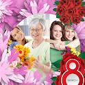 Women Day Photo Collage icon
