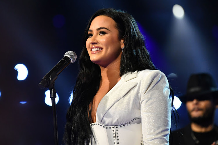 Singer Demi Lovato is speaking out candidly on her 2018 near-fatal overdose in a new four-part documentary. File photo.