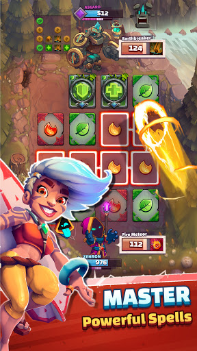 Super Spell Heroes - Magic Mobile Strategy RPG apktram screenshots 1