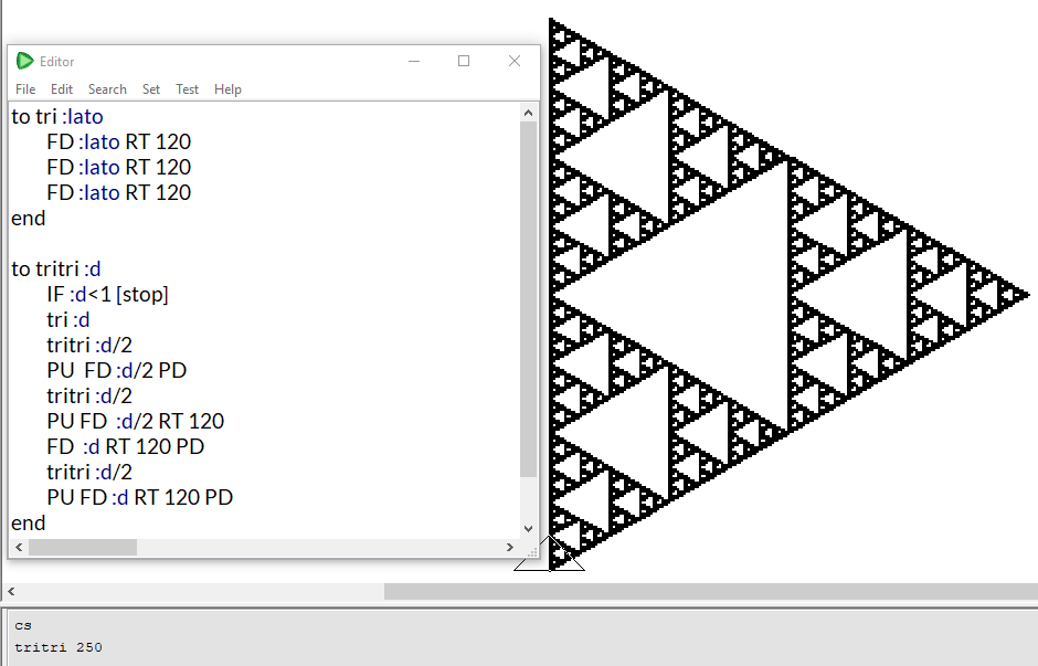 tam giác sierpinski