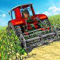 Offroad Farming Tractor Transporter Simulator 2021 icon