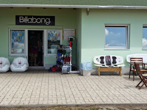 Photo: Wake board shop at Lake Velence , Velencei tó.