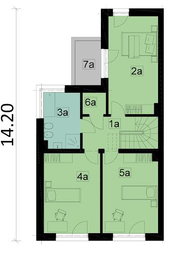 Ka28S - Rzut piętra