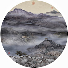 "Photo: Yao Lu, ""Autumn Mist in the Mountain with Winding Streams"" (2007) via An Xiao's Mountains and Oceans of Trash: http://ow.ly/liLE1"