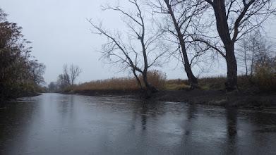Photo: coś tu bardzo niski stan wody jest