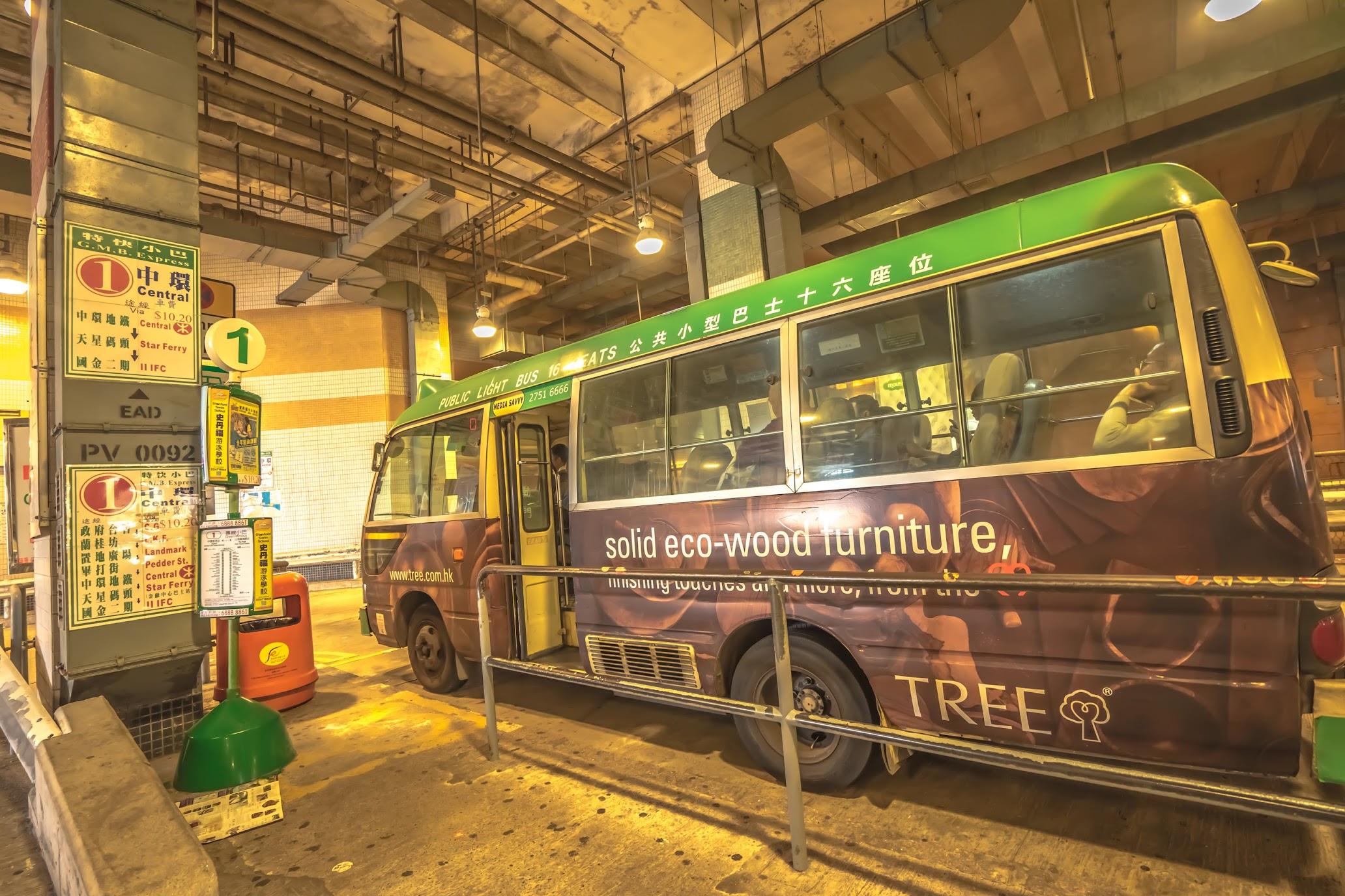香港 ビクトリア・ピーク ミニバス