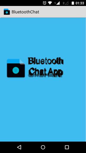 Bluetooth Chat App