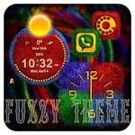 TSF NEXT ADW NOVA LAUNCHER FUZZY THEME 1.0