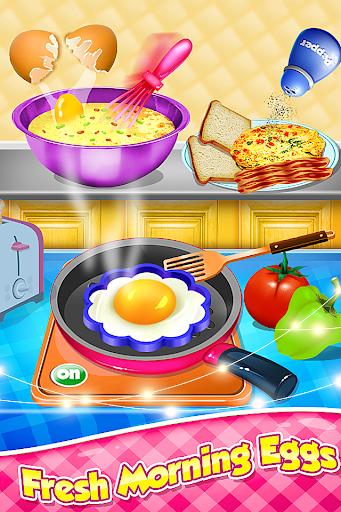 Breakfast Cooking - Healthy Morning Snacks Maker screenshots 1