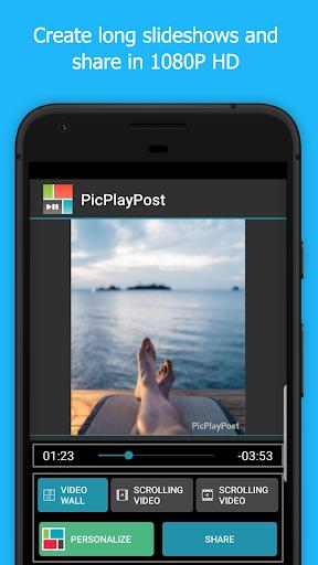 PicPlayPost Slideshow, Collage Maker, Video Editor screenshots 2