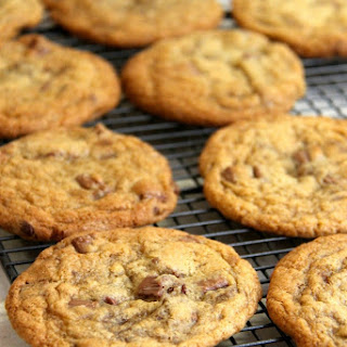 Milk Chocolate & Sea Salt Cookies! Recipe