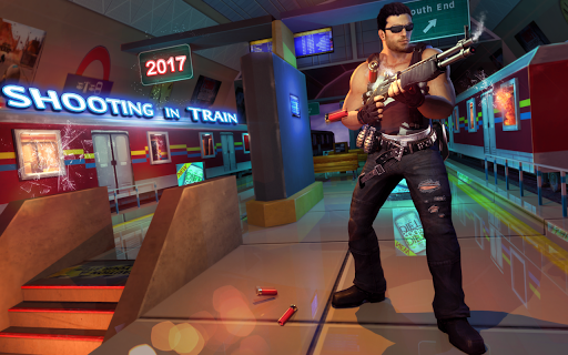 Shooting in Train 2017