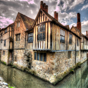 Ightham Mote  by Karen Peirce - Buildings & Architecture Public & Historical
