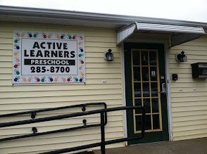 Photo: Active Learners Preschool in Norton, MA proudly displaying their BBB Accreditation.