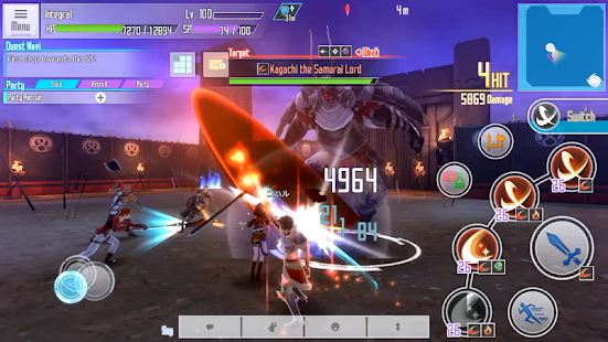 Hack Game Sword Art Online: Integral Factor apk free