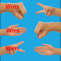 Rock Paper Scissors Game. (One Player) icon
