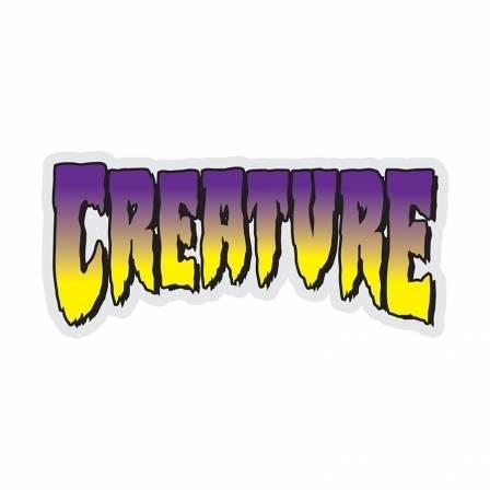 Creature - Medium Logo Sticker 5 in x 2.25