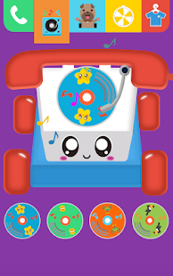 Baby Carphone Toy. Kids game - náhled