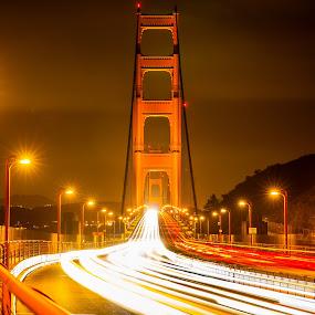 Golden gate bridge by Rechard Sniper - City,  Street & Park  Street Scenes