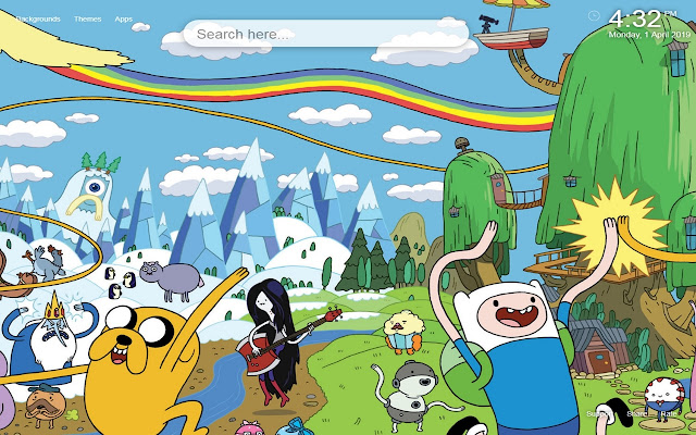 Adventure Time Wallpapers Themes