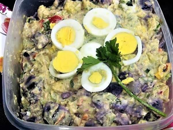Dee's Tri Colored Potato Salad