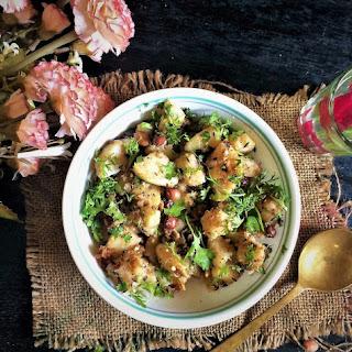 Vrat Wale Aloo Peanut Ki Subzi – Navratri / Fasting Recipe