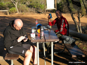 Photo: Relaxing after brrekky at Peak Charles National Park