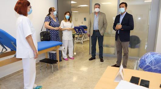 Ya están operativas las nuevas salas de fisioterapia de El Ejido