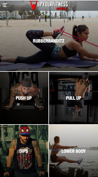 UpYourFitness Mobile- screenshot