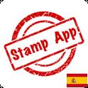 Stamp Spain, Philately icon