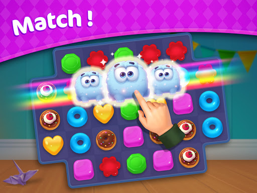 Jellipop Match-Decorate your dream townuff01 7.3.7 screenshots 14