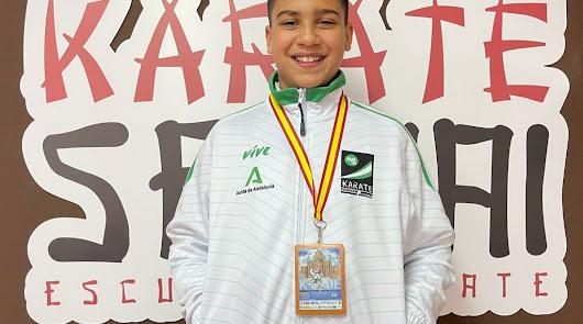 La escuela de Karate Sempai, de Roquetas de Mar, obtiene tercer puesto nacional