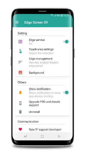 Edge Screen S9 1.6.3.5 screenshots 1