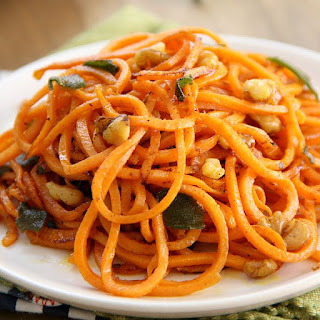 Brown Butter Sweet Potato Noodles.