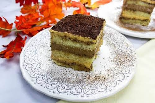 "Chocolate Pumpkin Tiramisu""I was looking for a pumpkin recipe for the holidays..."