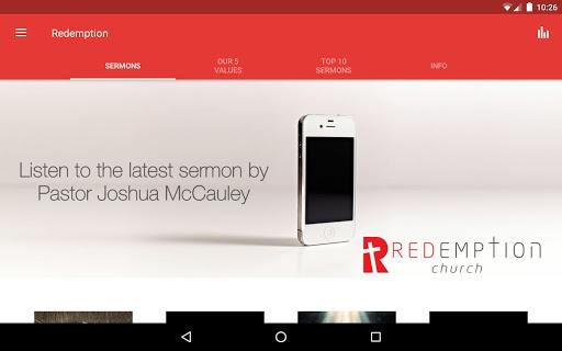 Redemption Church South Africa screenshot 7