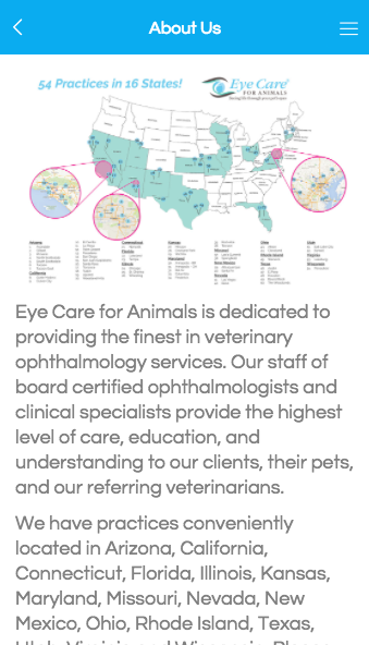 Eye Care for Animals- screenshot