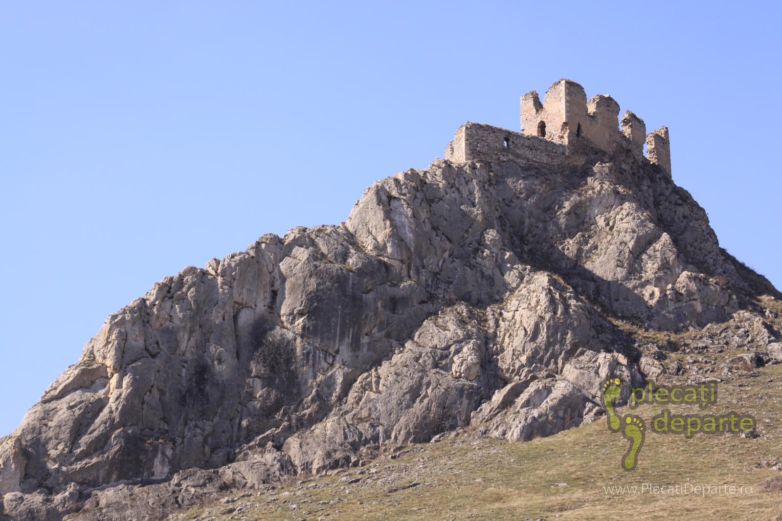 Cetatea de la Coltesti, Muntii trascaului, toamna primavara