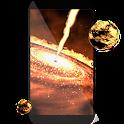 Quasar 3D live wallpaper icon