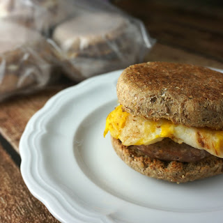 Healthy Freezer Breakfast Sandwiches
