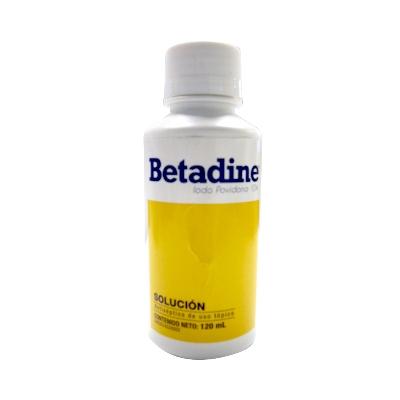 Betadine 120Ml Solución Lab Farma