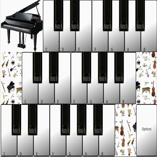 Piano Keyboard Instruments (app)