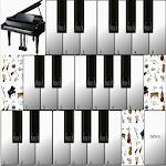 Piano Keyboard Instruments Icon