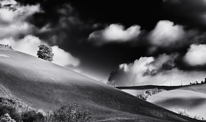 Paesaggio in bianco e nero. di CarloBassi