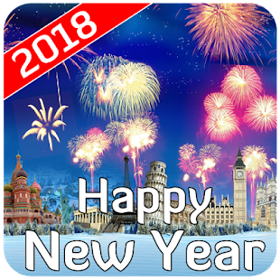 Happy New Year 2018 Wishes Wallpaper Images SMS- screenshot thumbnail