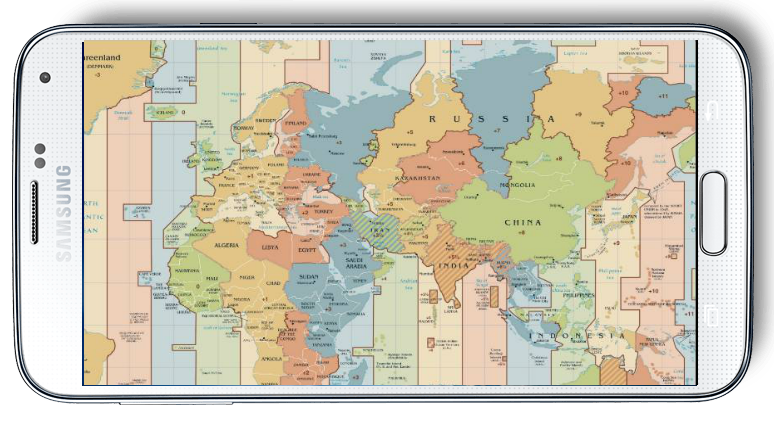 World map time zone android apps on google play world map time zone screenshot gumiabroncs