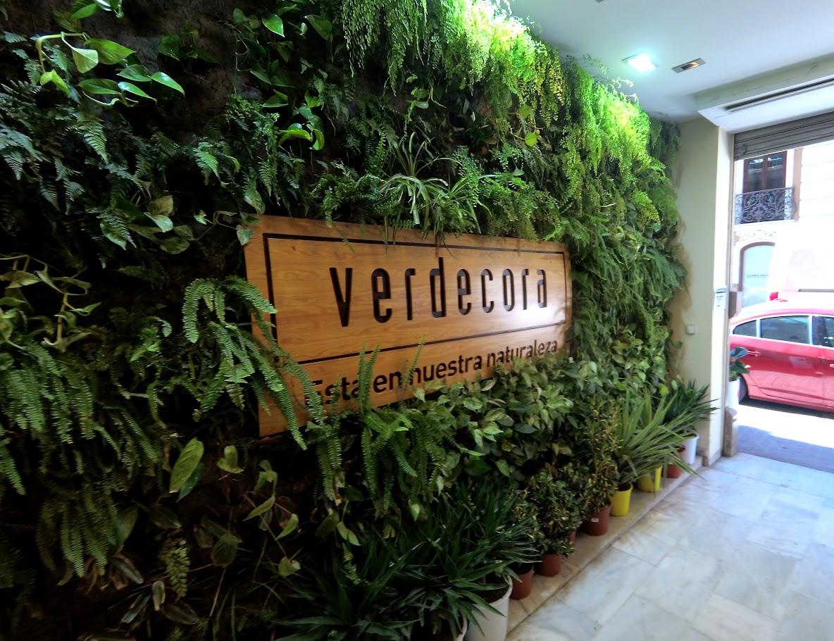 Jardín vertical en Valencia